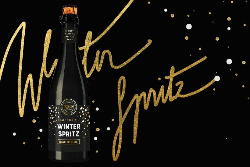 Selle hooaja joogisoovitus: maailma parima baaridaami loodud Winter Spritz!