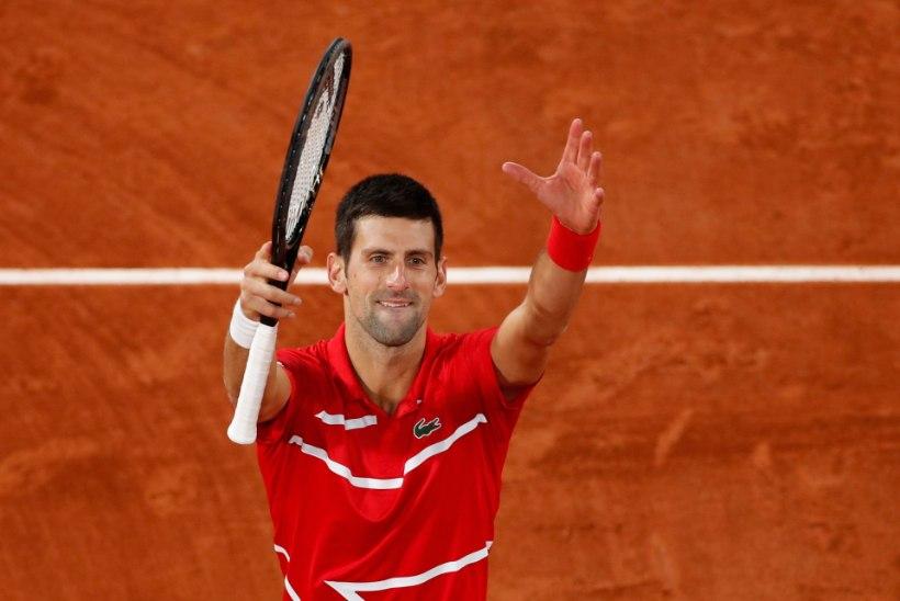 Djokovic jõudis võimsa tähiseni ja kordas oma iidoli rekordit