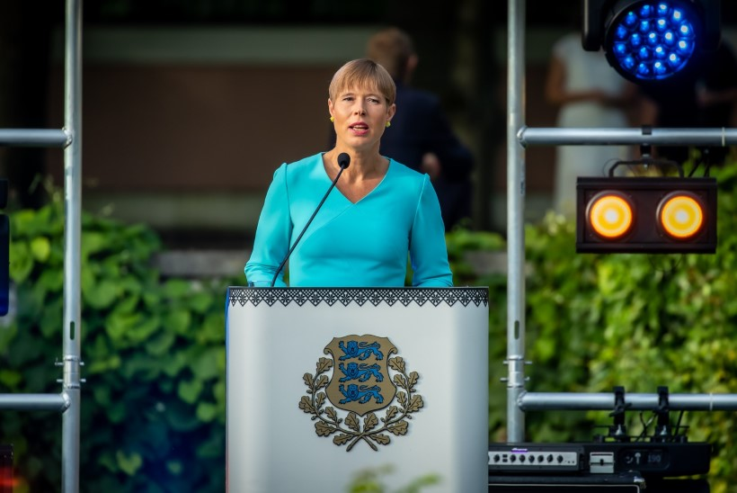 Kersti Kaljulaid: Helmete rünnak Bideni suhtes on rünnak Eesti demokraatiale ja julgeolekule