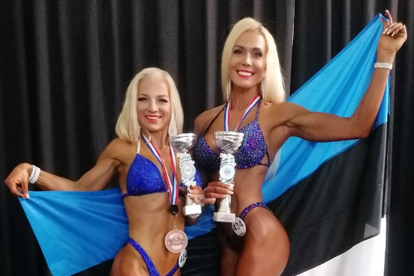 KAUNID KEHAD! Eesti fitnessikoondis naaseb MMilt nelja medaliga