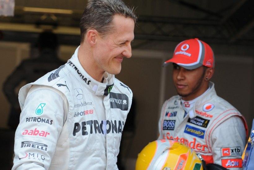 Hamilton iidol Schumacheri asendamisest: täiesti hullumeelne