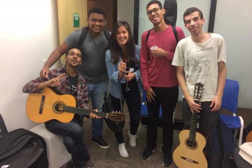 """""""JÄRGMINE PEATUS""""   Eestlanna alustas Rio de Janeiros tänavamuusikuna, kuid jagas peagi lava Grammy võitjaga"""