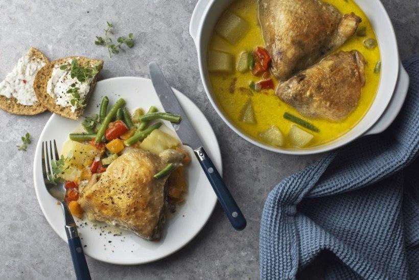 JÕULUOOTUSE PÄEVARETSEPT | Kana-köögiviljahautis