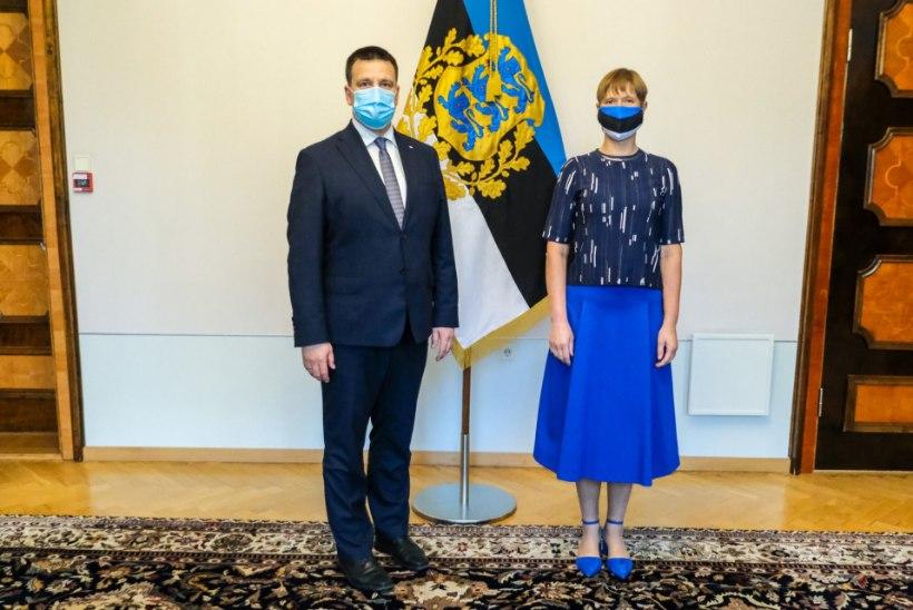 President Kaljulaid: isiklikult ei saa ma valitsust vahetada, aga ma ei pea vaiki olema