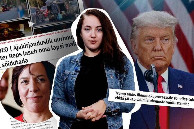 KUU KOKKUVÕTE | MÄNG LÄBI: Trump ja Reps kukkusid kõrgelt, nii mõndagi kaotasid Silvia Ilves ja maskieitajad