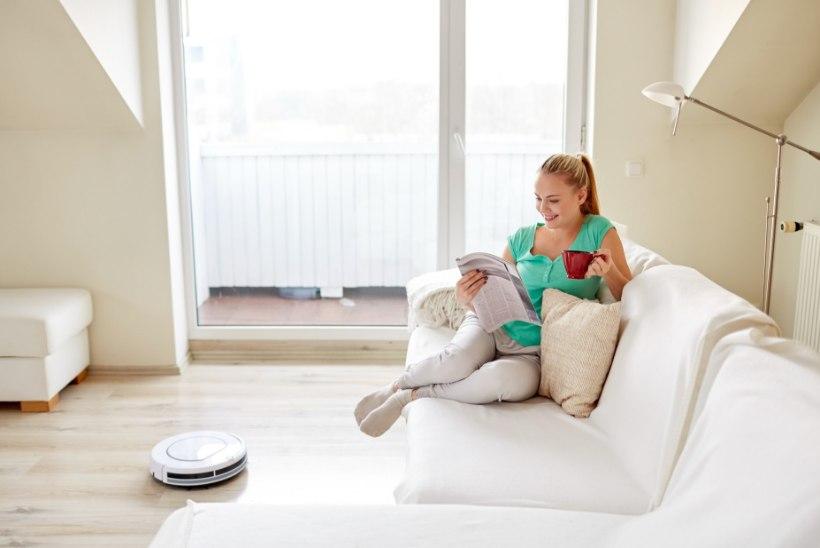 Kingituseks endale või tervele perele: 10 põhjust, miks võiks robottolmuimeja olla igas kodus!