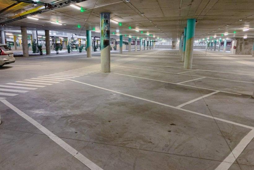 Tallinna lennujaam leidis tühjana seisvale parklale uue kasutusviisi