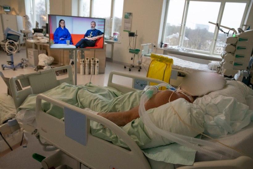 GALERII | Kuidas näeb välja haigla koroonaosakond viiruse leviku tipphetkel?