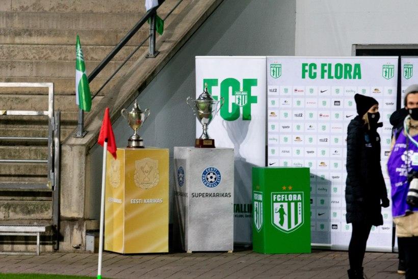 GALERII   Flora sai Lilleküla staadionil kätte meistrikarika