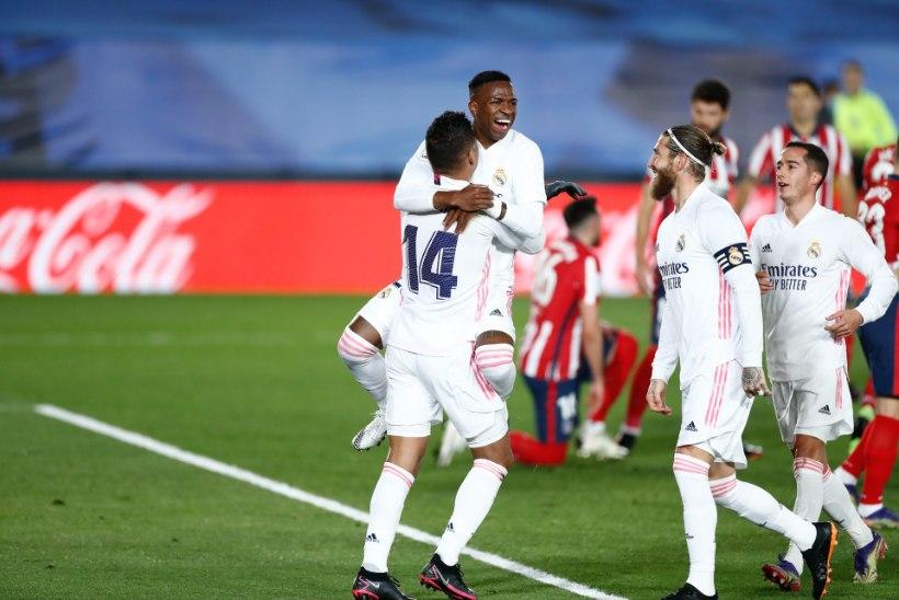 Manchesteri derbis väravaid ei nähtud, Madridi suurklubide kohtumise võitis Real