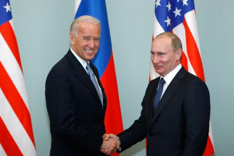 Putin saatis Bidenile viimaks ka omapoolse õnnitluse