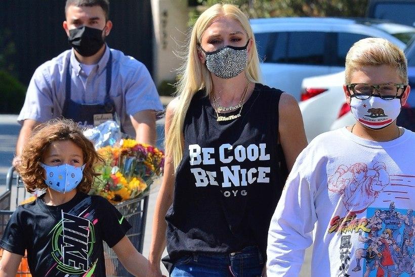 Gwen Stefani ja tema pojad maadlevad düsleksiaga