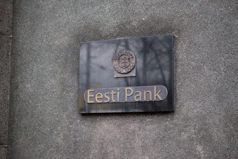 Eesti Panga prognoos:kardeti hullemat majanduslangust