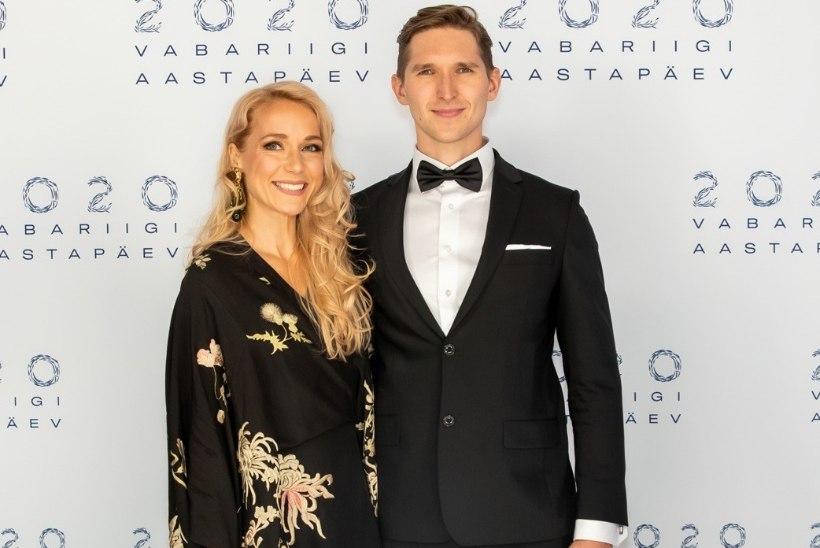 FOTO   Lauri Mäesepp jagab armsat pilti enda ja Lenna Kuurmaa pojast