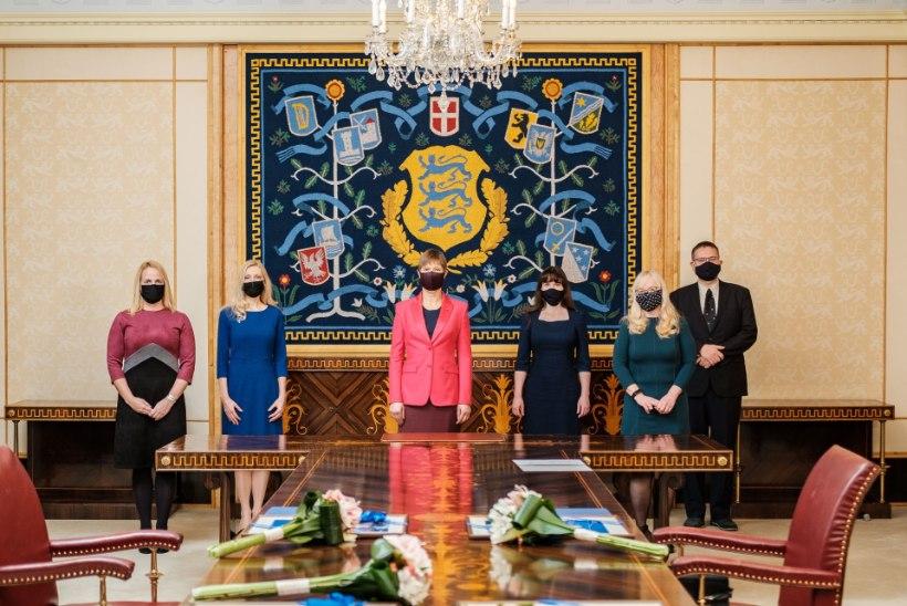 FOTOD | President nimetas ametisse neli esimese astme kohtunikku