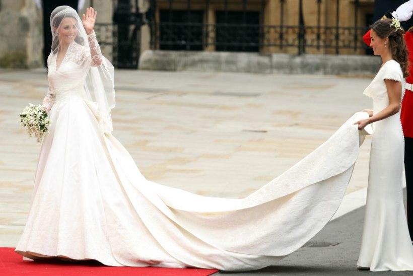 KURB LUGU: Kate Middletoni ja Meghan Markle'i pruutkleitide meistril pole oma laste toitmiseks raha