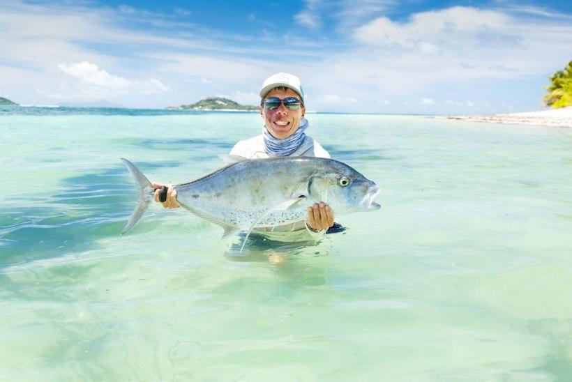 Tagasi paradiisis ‒ elu kalad tabad lendõngega Seišellidel