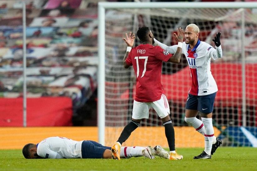 Meistrite liiga: PSG alistas Manchester Unitedi, Olivier Giroud lõi Sevilla võrku neli palli