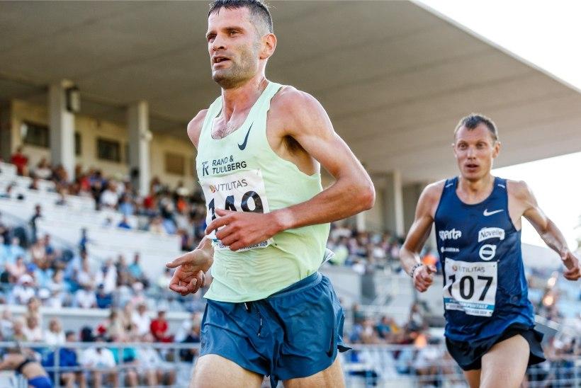 Kaks nädalat hotellitoas istunud Nurme kerkis Taipei maratonil poodiumile
