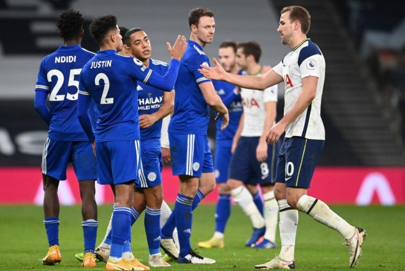 Tottenham sai teise järjestikuse kaotuse ning pudenes esikolmikust välja