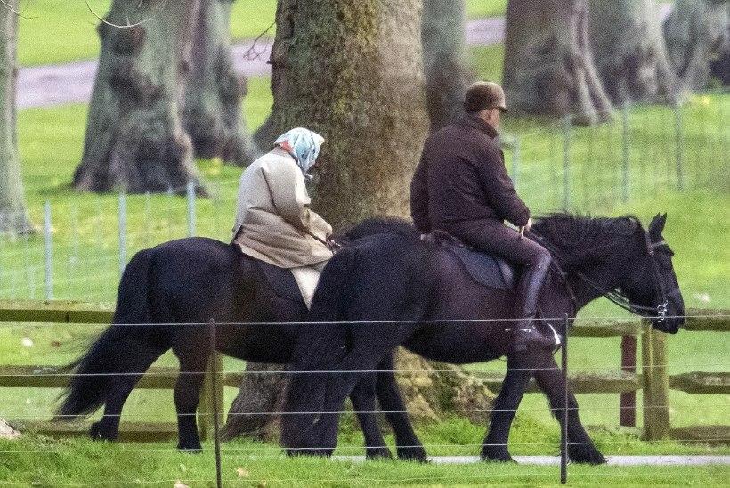 TEE JÄRELE: 94aastane Elizabeth II käib endiselt ratsutamas