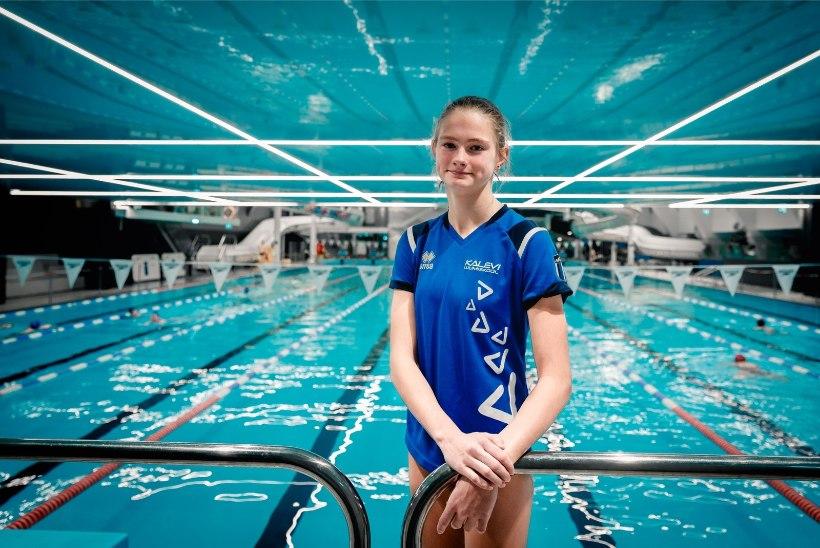VÄGEV! 13aastane Jefimova püstitas järjekordse Eesti rekordi
