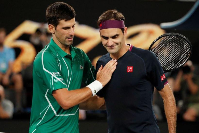 Djokovic jõudis ülivõimsa tähiseni ning läheneb Federeri rekordile