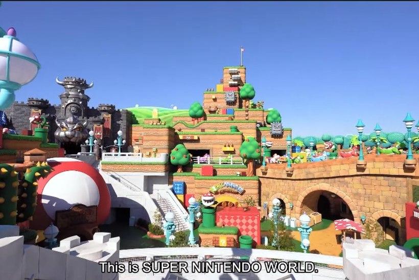 Nintendo avab lõbustuspargi, kuhu sa pandeemia tõttu ilmselt niipea minna ei saa