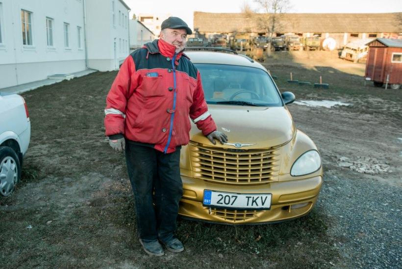 Kristiina Ehini kuldsest Chryslerist sai varjupaiga eksponaat