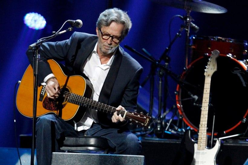Eric Clapton ja Van Morrison avaldasid maskivastase protestilaulu