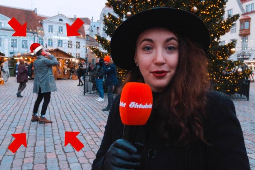 ÕL VIDEO   Tiir Tallinna jõuluturul: tulukesed ja glögi toovad õige pühademeeleolu. Jõulutervituse tegi ka üks kuumim Eesti staar