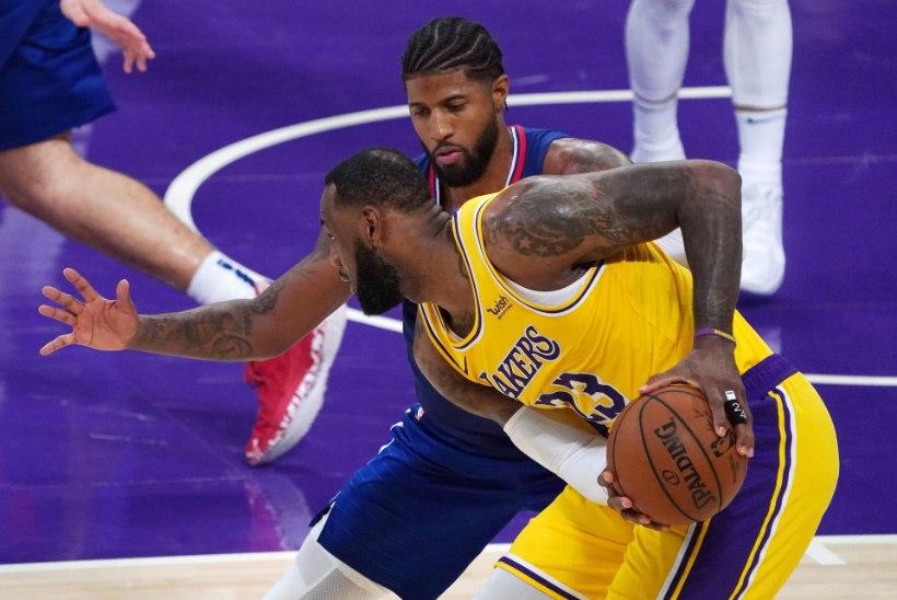 Valitsev meister Lakers kaotas hooaja avamängus linnarivaalile, Durant ja Irving vedasid Brooklyni võiduni