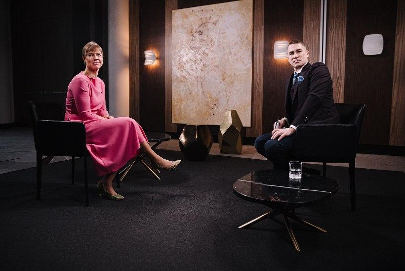 ERRi VIDEO | President Kaljulaid: ühiskonnana olime kasvamas sinnani, et kooseluseaduse rakendusaktid võiks vabalt vastu võtta