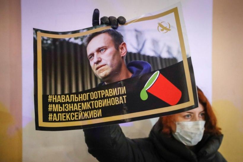 SAKSA ARSTIDE ARUANNE: Navalnõi pulss langes 44 löögini minutis ja kehatemperatuur oli vaid 34,4 kraadi