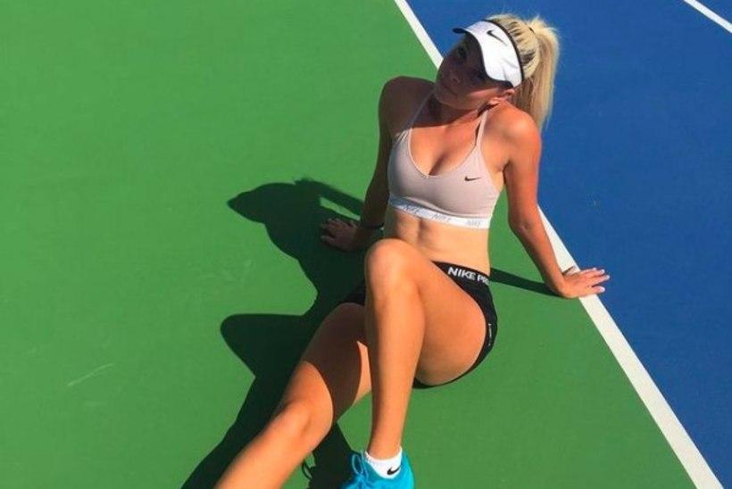 PÕLETAVALT KUUM | Noor tennisekaunitar liitus OnlyFansiga ja müüb endast alasti fotosid