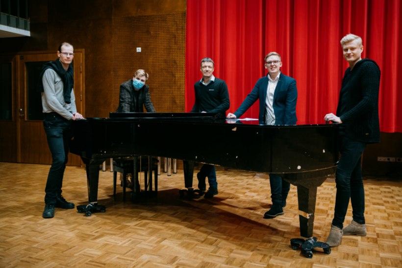 """ETV multitalentide ansamblis valitseb harmoonia: """"Muusika teeb inimese hinge ilusaks."""""""