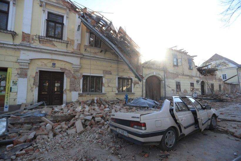 FOTOD JA VIDEOD   Horvaatia keskosa tabas tugev maavärin