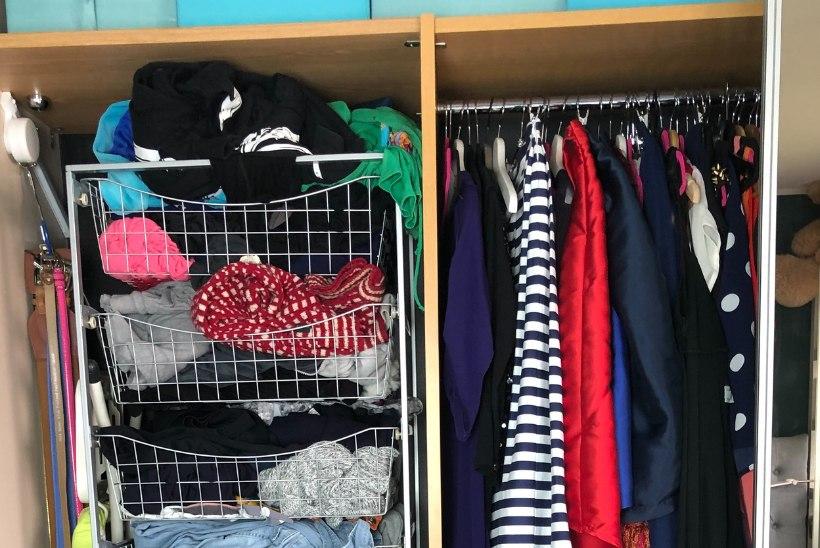 EKSPERIMENT | Kuidas ma oma riidekapid (ja elu) korda sain?