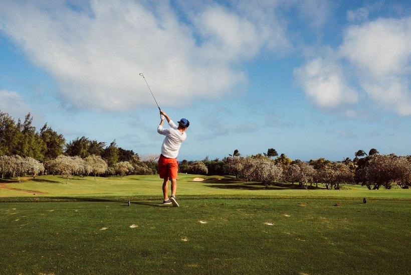Hea füüsiline ja vaimne tervis golfi mängides