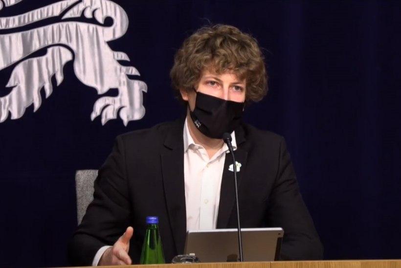 Tanel Kiik: valitsus keelutunnile ei mõtle. Me ei näe plahvatuslikku kasvu nakatumises koroonaviirusega