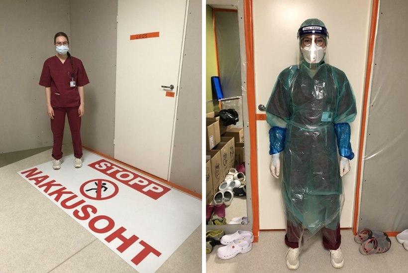 """KOROONAPESASSE APPI! Ida-Virumaale tõtanud arstitudeng: """"Nii kurb – olla üksi, hingamisraskusega, organid ütlevad ükshaaval üles."""""""