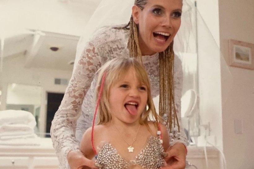 UUS MODELLIDÜNASTIA: Heidi Klumi tütar tahab ema mantlipärijaks saada
