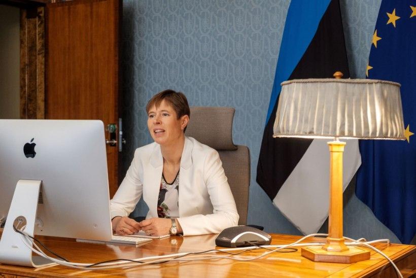 President Kaljulaid on eneseisolatsioonis