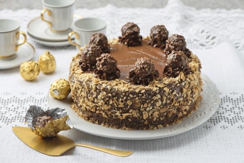 NÄDALA KOOK   Šokolaadi-pähklitort a la Ferrero Rocher