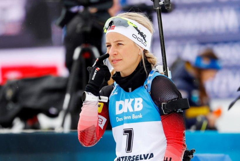 Naiste jälitussõidu võitis Eckhoff, eestlannad punktidele ei jõudnud