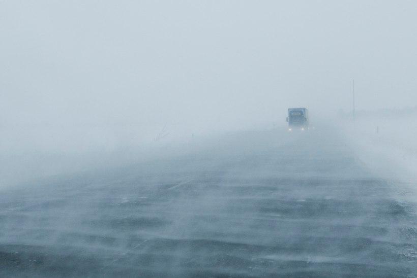 Tõnis Erilaiu lehesaba | Kuidas sajad inimesed maanteel lumelõksu jäid
