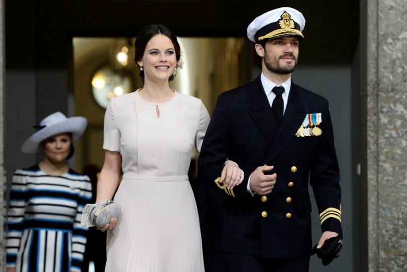 Prints Carl Philip ja printsess Sofia paranesid koroonast