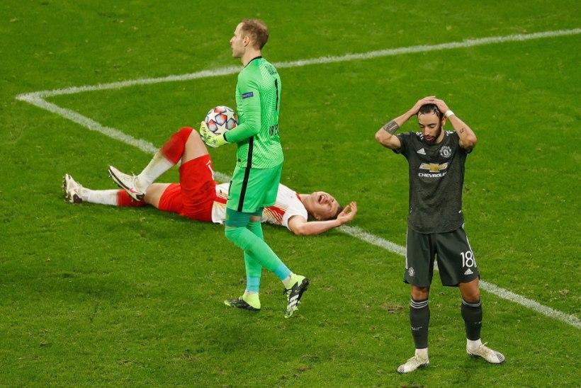 Kaotus Saksamaal lõpetas Manchester Unitedi hooaja meistrite liigas