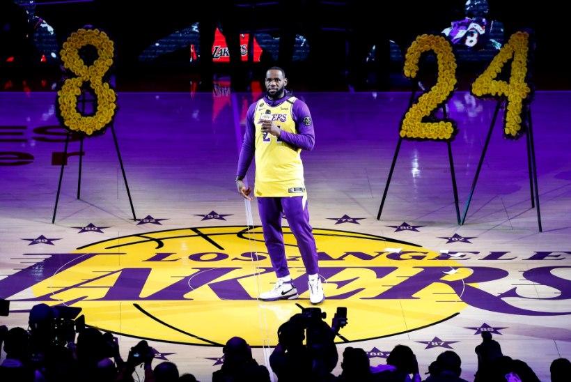 VIDEO | Los Angeles Lakers pidas esimese kodumängu peale Kobe Bryanti lahkumist