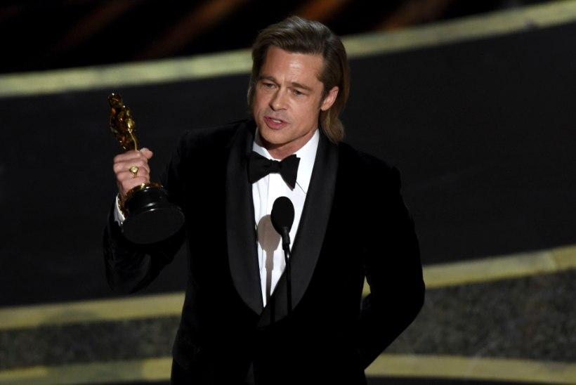 Brad Pitt pühendas Oscari oma kuuele lapsele